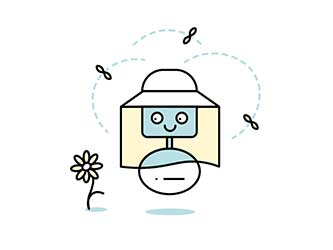 beekeeper animated graphic
