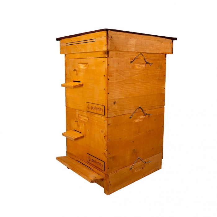 uHive - bee hive box by Pollenity
