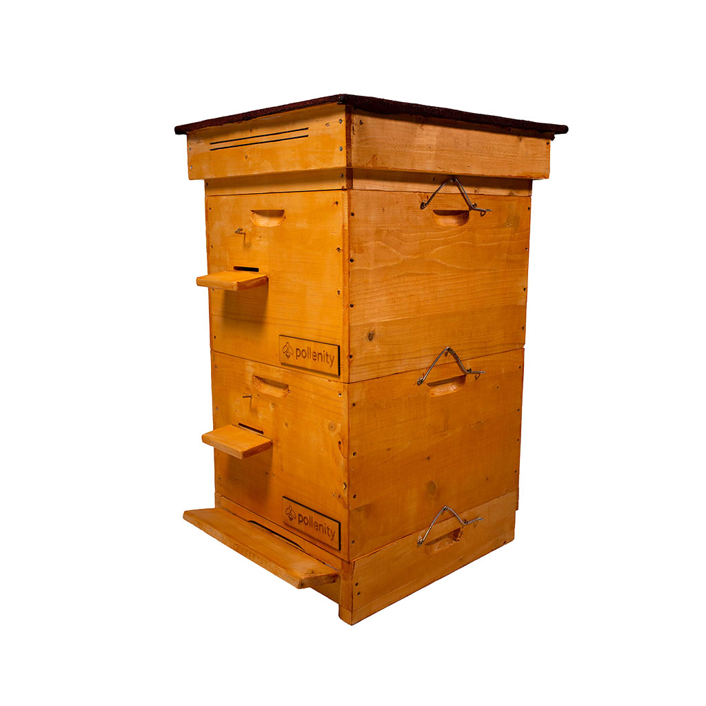 uHive - bee box by Pollenity