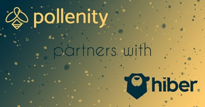 Pollenity partnership with Hiber cover image