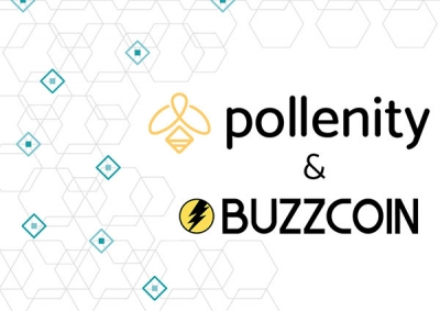Buzzcoin partners with Pollenity cover image
